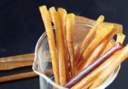 Crean popote a partir de cáscara de mango y baba de nopal