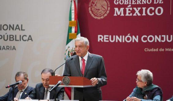 Presidente convoca a los tres poderes del Estado a atender las causas de la inseguridad y la violencia