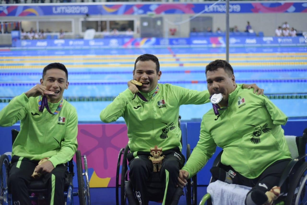 México ya suma 28 medallas de oro en juegos Parapanamericanos