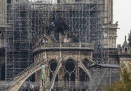 Reanudan obras en catedral de Notre Dame