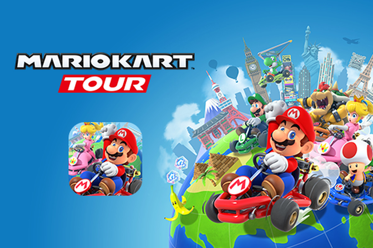¡Ya puedes jugar Mario Kart en tu celular!
