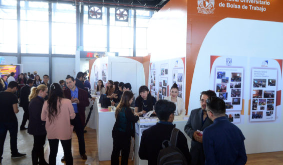 Abre la XIX Feria del Empleo UNAM 2019