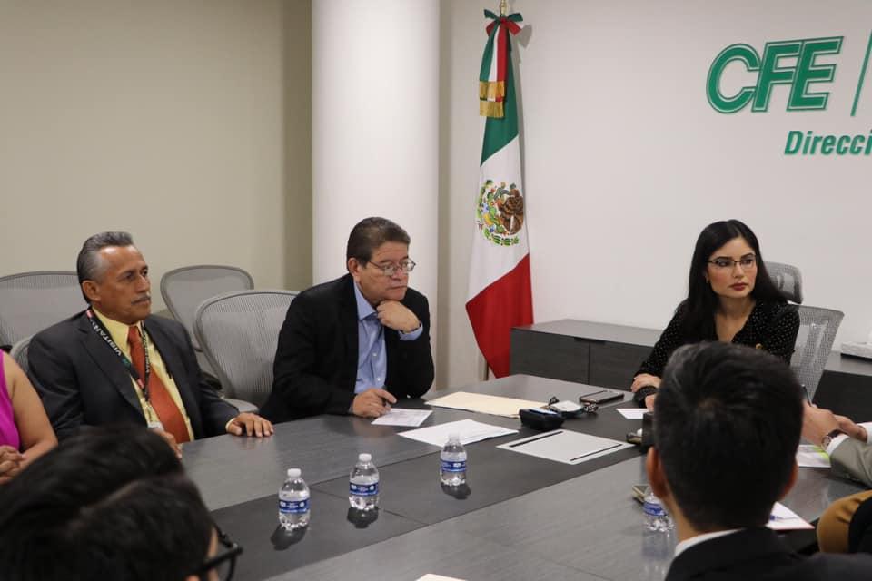 Logra el alcalde Javier Castellón, acuerdos con la CFE