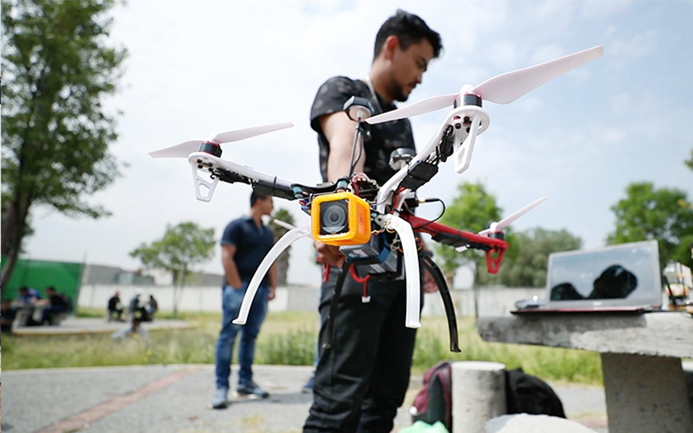 Politécnicos crean dron capaz de localizar a víctimas de inundaciones, sismos e incendios