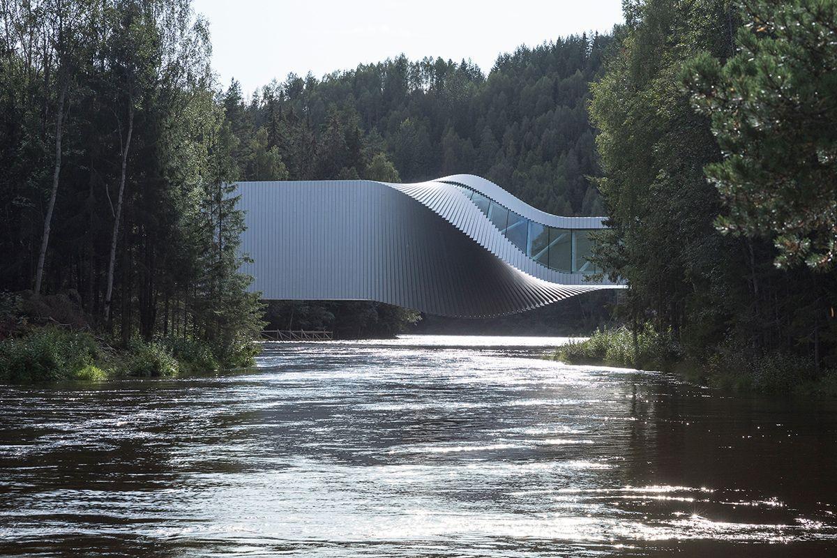 «The Twist», el arte en Noruega que cruza orillas