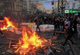 Aumenta la cifra de muertos en Chile por violencia