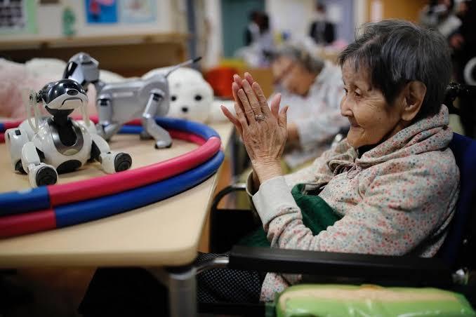 Japón pone a prueba robots para cuidar ancianos