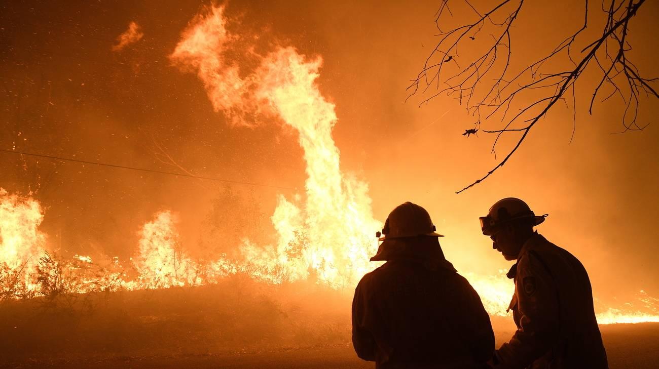 Arde mega incendio en norte de Sydney