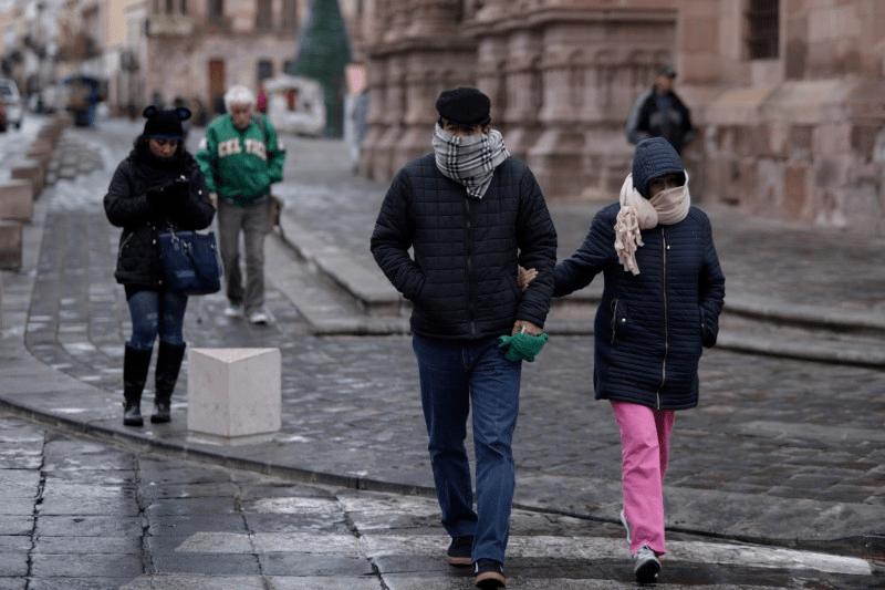Heladas de menos 5 grados en montañas por tercer Tormenta Invernal