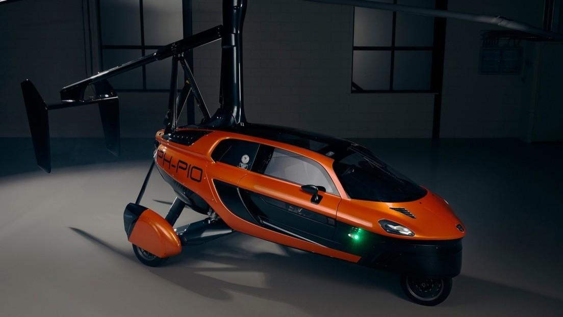 Presentan el primer auto volador del mundo