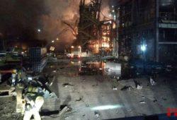 Dos muertos en la explosión de una planta química en España