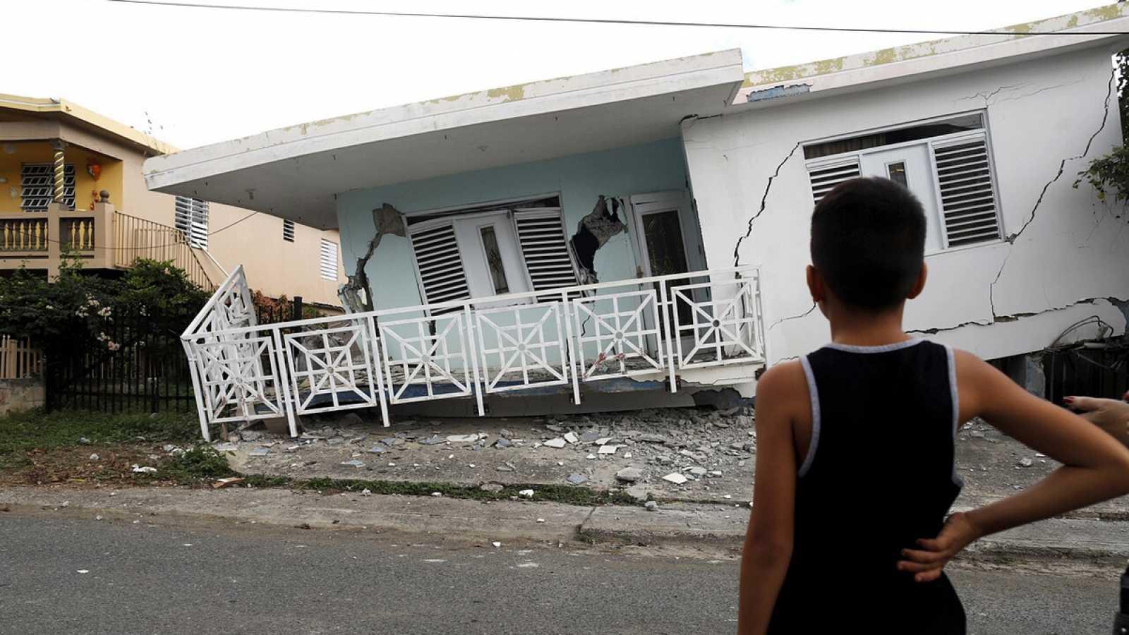 Emergencia en Puerto Rico tras terremoto