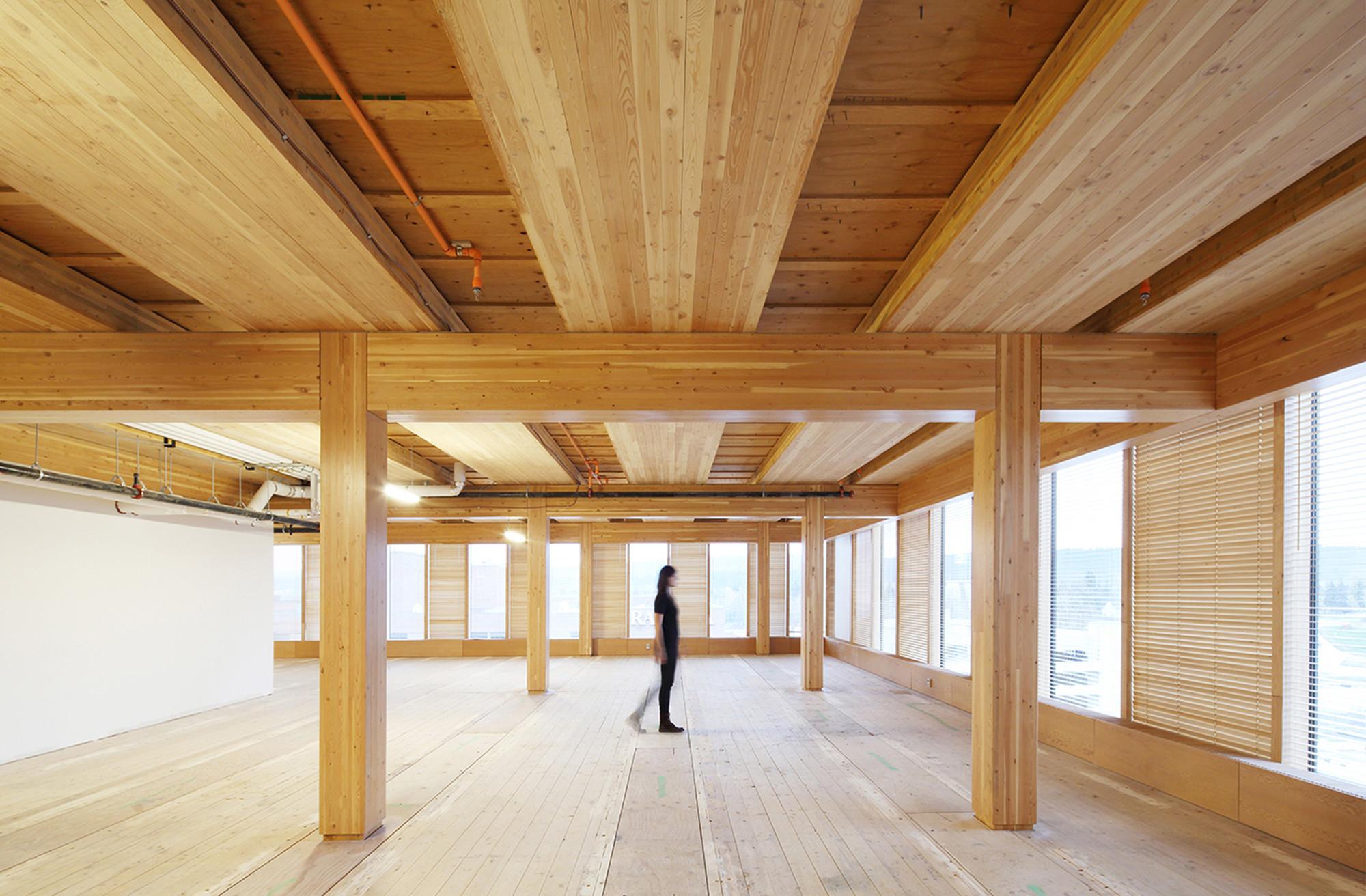 Proponen edificios de madera contra el cambio climático