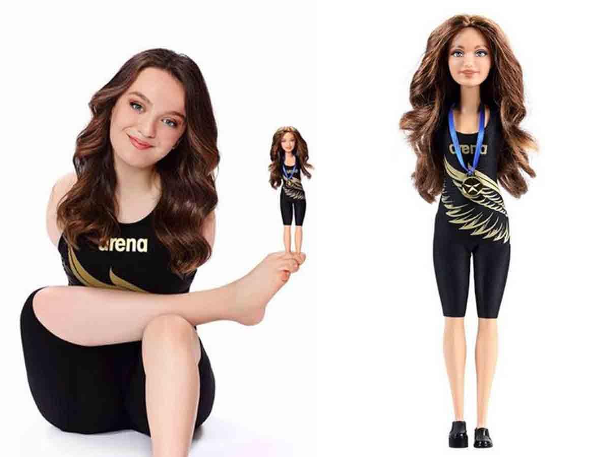 Lanzan una barbie sin brazos pero con 'alas'