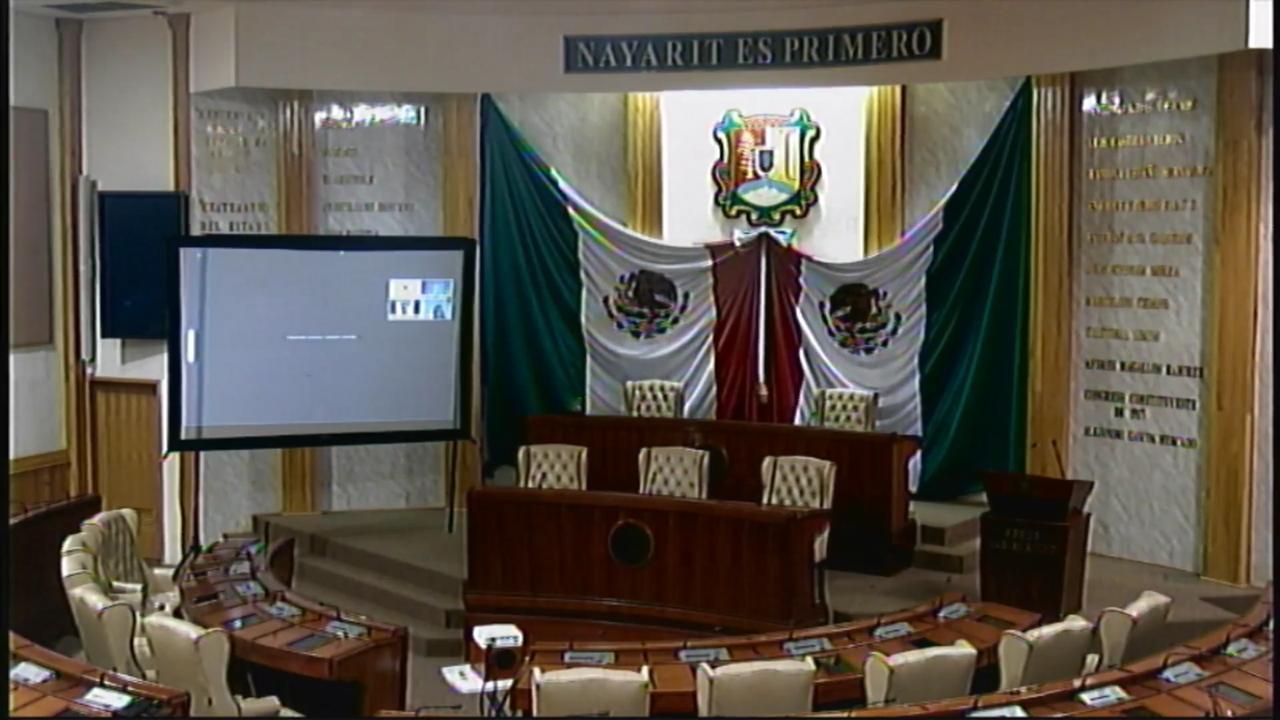 Diputados de Nayarit seguirán legislando de manera virtual
