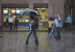 Pronostican lluvias en territorio nacional por tormenta tropical