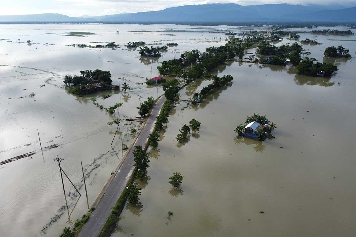 Casi 4 millones de personas afectadas por inundaciones en Asia