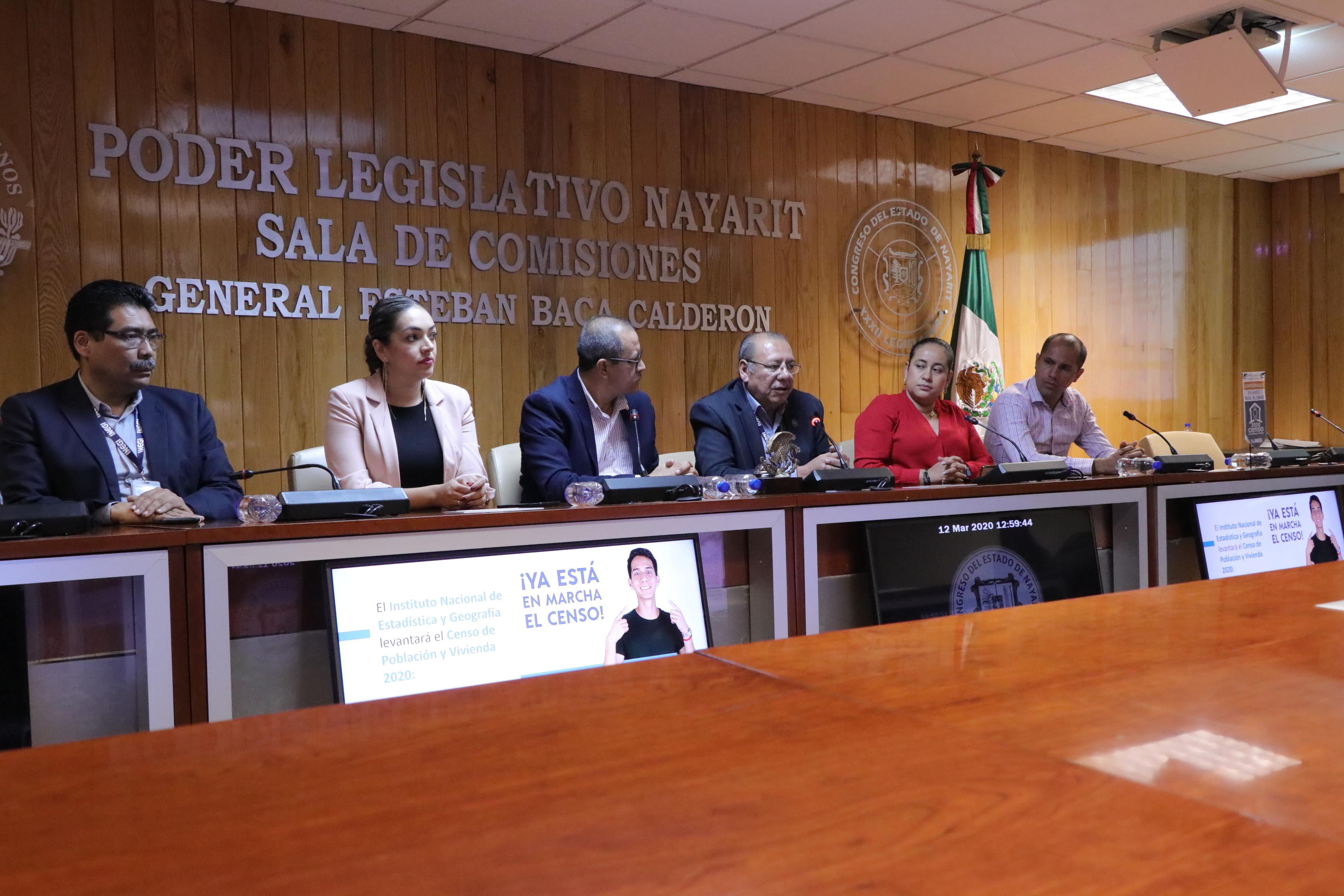 Unen esfuerzos Congreso e INEGI