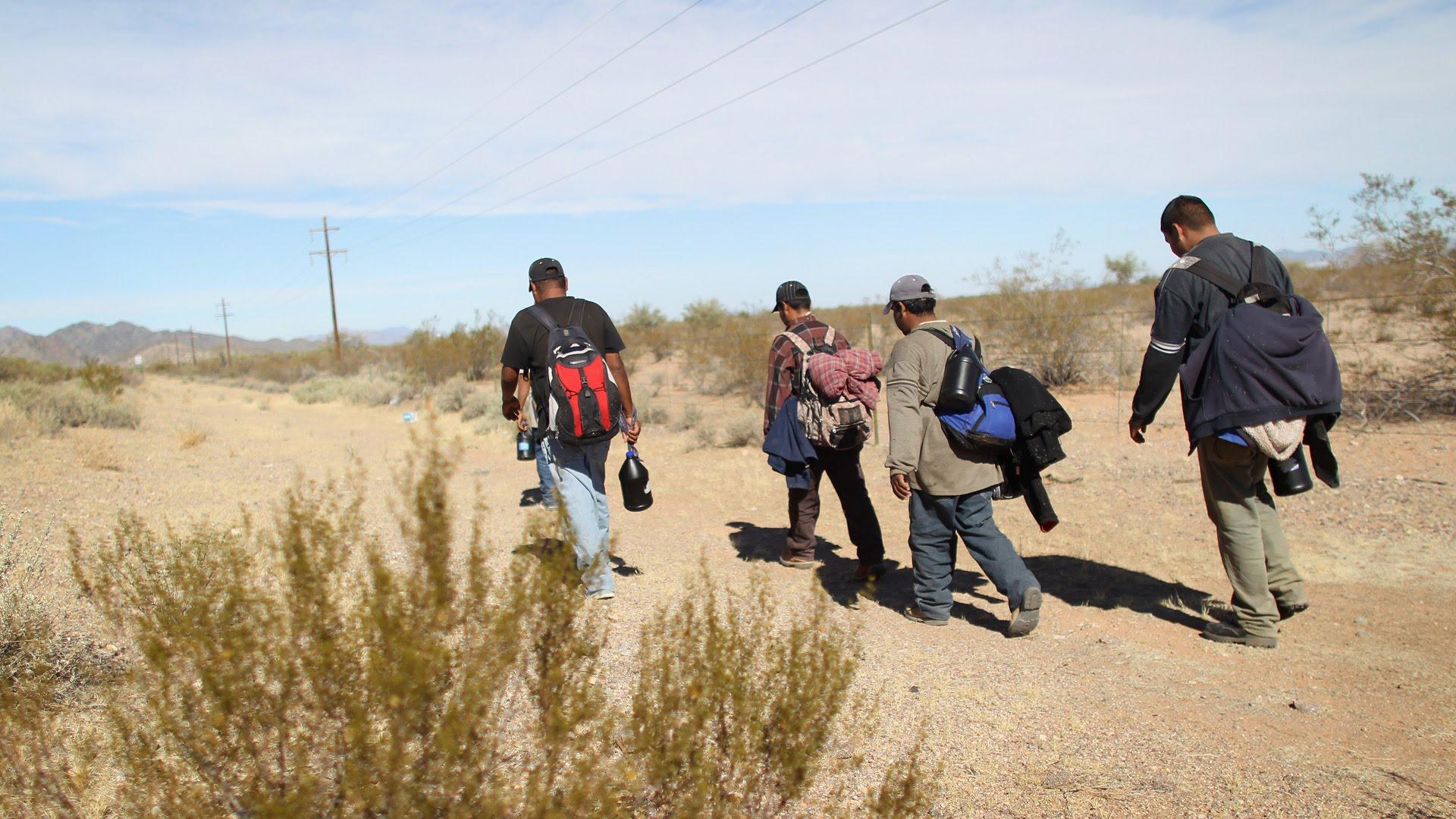 Rescatan a 45 migrantes mexicanos en Arizona