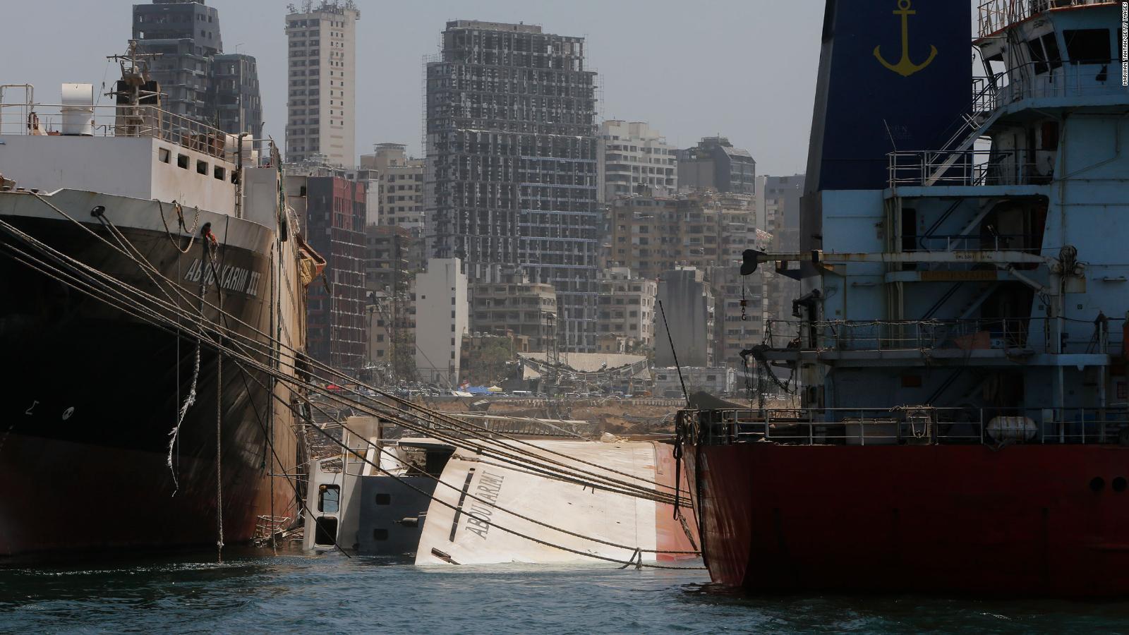 Suman 171 muertos por explosión en Beirut