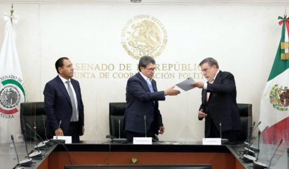 Recibe el Senado petición de López Obrador para consulta